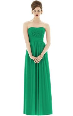 Miraculous Sweetheart Chiffon Floor Length Bridesmaid Gowns
