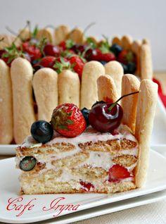 """Сafe Iryna: Нежный торт,по мотивам """"Дамские пальчики"""""""