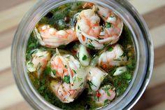 A Southern cold shrimp appetizer with onions, garlic, lemon juice and dill. If you like pickles and seafood, you'll love this recipe!