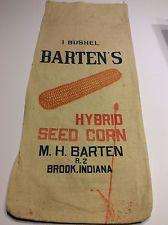 Barten's Hybrid Brook, Indiana 14.5x34.5