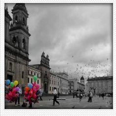 Foto por: @kathyaviles.  #plazadebolivar #catedralprimada #bogotá #bogotastreetphoto #bogotaneando
