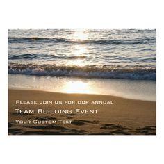 "Corporate Team Building Event Invitations 5"" X 7"" Invitation Card"