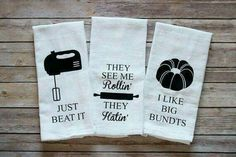 Baking humor towels