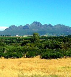 Helderberg Mountains - South Africa Countries Around The World, Around The Worlds, Somerset West, Incline Village, Indigenous Tribes, Olympic Peninsula, Germany Travel, East Coast, Rivers
