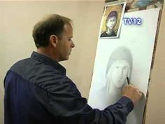 Religious Icons, Religious Art, Paint Icon, U Tube, Videos, Byzantine Art, Painting Process, Orthodox Icons, Drawing Techniques