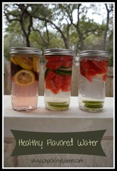 Healthy, Fun Way to Drink More Water - Fruit Infused Water at Home #water #health www.chachingqueen.com