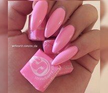 Inspiring image barbie, barbie pink, beauty, cute, cute nails, fashion, girly, nail addict, pink nails, pretty nails, style, summer nails, pink stiletto, nail club, naails on fleek #3268720 by helena888 - Resolution 640x640px - Find the image to your taste