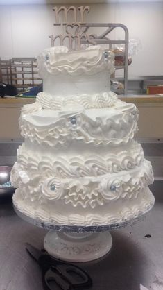 Wedding Cake I made.