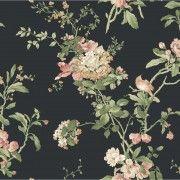 York Wallcoverings Ashford House Blooms Flower Vine Wallpaper at Menards®: $95.98