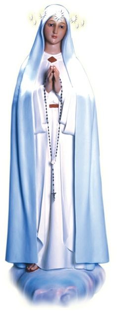 Nuestra Señora del Rosario del Pozo. Trae 7 estrellas que simbolizan los 7 sacramentos.