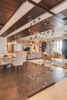 Largest collection of inspiring Indian home interior design ideas. Interior Design Renderings, Room Interior Design, Home Room Design, Apartment Interior, House Ceiling Design, Ceiling Design Living Room, House Design, Wooden Ceiling Design, Living Room Partition Design