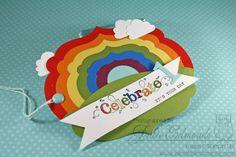 Birthday Rainbow Tag