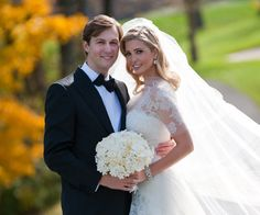 Ivanka Trump and Jared Kushner's 2008 wedding. So stylish.