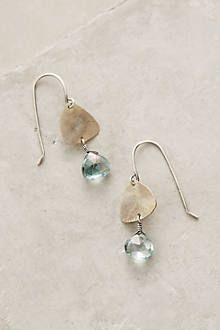 Blue Quartz Earrings