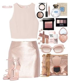 """Baby Spice 👧"" by chelsofly ❤ liked on Polyvore featuring Marchesa, Jimmy Choo, SemSem, Bobbi Brown Cosmetics, Morgan, Pomellato, Too Faced Cosmetics, NYX, Burberry and Giuseppe Zanotti"