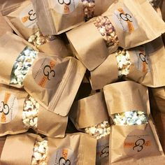 gourmet popcorn packaging