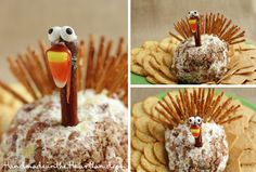 Thanksgiving Cheese Ball | Handmade in the Heartland: Thanksgiving Cheese Ball