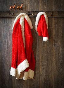 Photograph - Santa's
