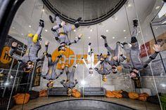 Have you met our Hurricane Factory Prague team ? Indoor Skydiving, Indoor Activities, Prague, Sport, Deporte, Sports