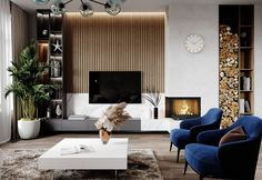 Wonderful Wall Accent Decoration Ideas For Modern Living Room – Having a beautifully designed interior room and fantastically laid out is everyone's dream. However, people often mis… Living Tv, Living Room Tv Unit, Accent Walls In Living Room, Living Room Modern, Living Room Interior, Living Room Designs, Living Room Decor, Living Rooms, Inspiration Design