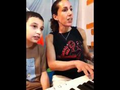 8 year old Autistic boy sings RENT in music therapy session