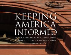 "GPO releases an updated edition of its history book ""Keeping America Informed… History Books, Reading Lists, Historical Photos, Just In Case, Public, America, Projects, Playlists, History Photos"