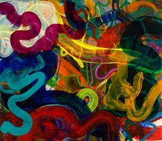 Lush James Vanderberg painting, In the Dark, In the Light