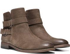 Franco Sarto Harwick Bootie Desert Khaki Leather