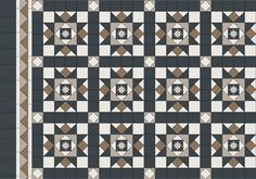 Petersham Pattern + Border + Infill
