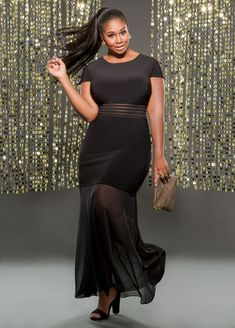 a52628b5df Ashley Stewart Comes Through With A Sexy Plus Size Holiday Dress Collection