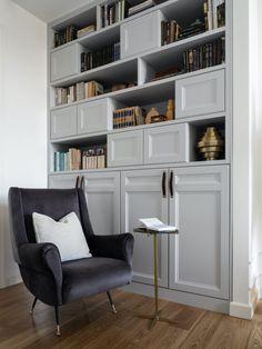 Bookcase, Photo Wall, Shelves, Home Decor, Interiors, Libros, Living Room, Photograph, Shelving