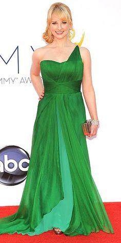 43b8caf35a Emmys 2012  Melissa Rauch The Big Bang Theory star