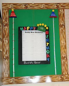 Classroom Bulletin Board Ideas: Birthdays, Artwork, and Star of the Week
