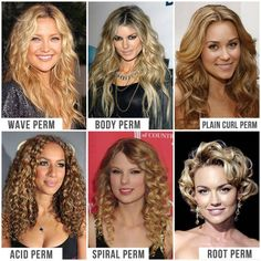 Root Perm Before and After | ... perm plain curl perm acid perm spiral perm and finally the root perm