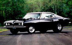 '69 Hemi-Barracuda - I remember back, fast cars.