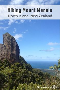 I spent six wonderful weeks in New Zealand and could have stayed for many more months, years even... One of the reasons New Zealand is my favorite country in the world is there are so many great hikes, like the steep 1-hour trail to the top of Mount Manaia on Whangarei Heads, North Island.