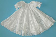 White Christening Gown 13079-G