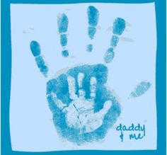 **heres the daddy and me... cept i would use the opposite hand from mommy and me... website also has some pretty cute ideas for baby stuff