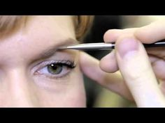 M∙A∙C AW12 Paris Fashion Week: Tips & Tricks with Pablo---This is the best brow trick I have learned in my whole life
