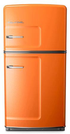 Orange Big Chill Retro Fridge