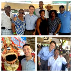 Fun afternoon at the Savannah Regional Council #LaborDay picnic. Great seeing State Rep @DewMac52 there!