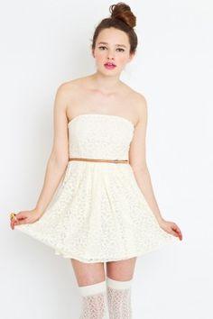 Lace Swirl Dress - NASTY GAL - StyleSays