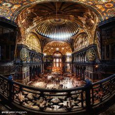 Hagia Sofia, Istanbul by geopalstudio