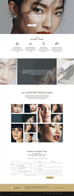 Royalistic is creative and luxury style responsive multipurpose #WordPress theme for #modeling #agency stunning eCommerce website with 25+ niche homepage layouts download now➩ https://themeforest.net/item/royalistic-creative-multipurpose-wordpress-theme/19567791?ref=Datasata