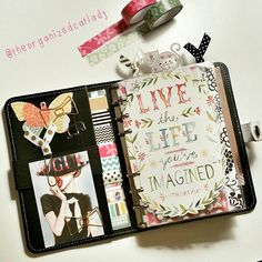 """#plannerdarlingspotd day 1: planner L-O-V-E me some #filofax monochrome!! ♡"" Photo taken by @theorganizedcatlady on Instagram, pinned via the InstaPin iOS App! http://www.instapinapp.com (09/02/2015)"