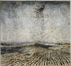 Anselm Kiefer (born March 8, 1945) is a German painter and sculptor. He studied with Joseph Beuys and Peter Dreher during the 1970s. His works incorporate materials such as straw, ash, clay, lead, and shellac. The poems of Paul Celan have played a role in developing Kiefer's themes of German history and the horror of the Holocaust, as have the spiritual concepts of Kabbalah.