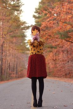 Adorable for fall!!! Love the colours