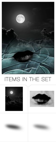 """""""3582 - Silent Night"""" by niwi ❤ liked on Polyvore featuring art"""