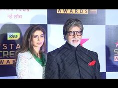 Amitabh Bachchan With Daughter Shweta Nanda At Star Screen Awards Amitabh Bachchan, Bollywood News, Gossip, Awards, Interview, Daughter, Jewellery, Star, Youtube
