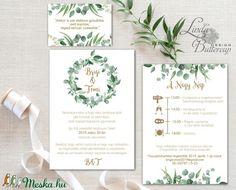 Wedding Cards, Wedding Invitations, Big Day, Greenery, Wedding Inspiration, Wedding Ideas, Dream Wedding, Wedding Decorations, Place Card Holders